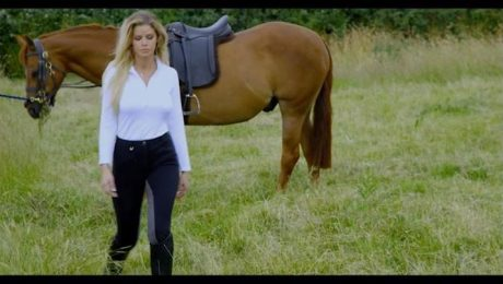 Looking for a private horse riding lesson?!  See the most popular film in March on  #VOD  #DorcelTVCanada, also available in 4K UHD.