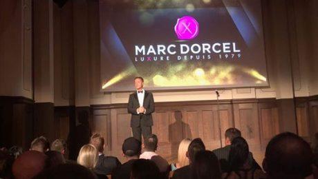 Bravo à Marc Dorcel !!  Retour sur la soirée d'hier à Berlin ! Marc Dorcel était présent aux Xbiz Europa Awards et a remporté plusieurs trophées en pr...